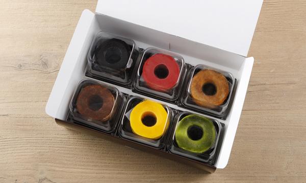 とろなまプチバウムケーキ6個入りセットの箱画像