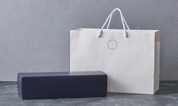 銀座豉特選 味噌の紙袋画像