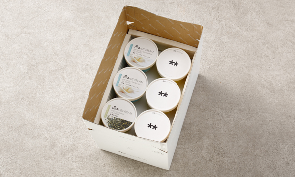 GIFT BOX カルテット6個入の箱画像