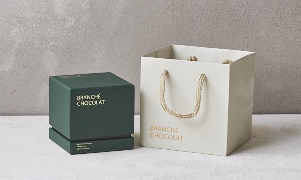 抹茶のカレ・オ・ショコラ GIFT BOXの紙袋画像
