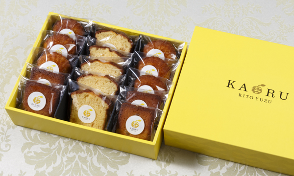KAORU焼き菓子アソートセットの箱画像