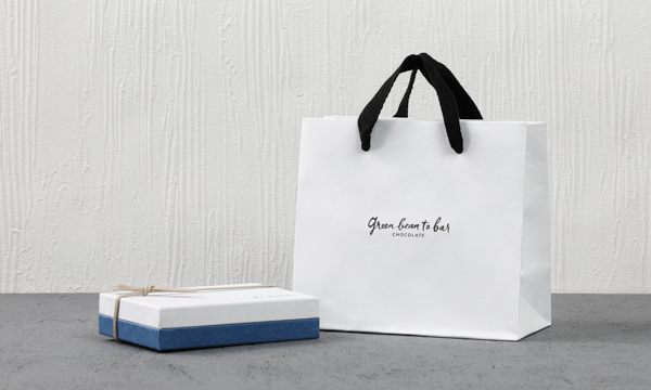 ボンボンショコラボックス8個の紙袋画像