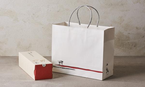 銀座 お米のかすてら【しお】の紙袋画像