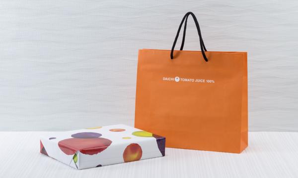 大地のミニトマトジュース 「sun  pallet」の紙袋画像