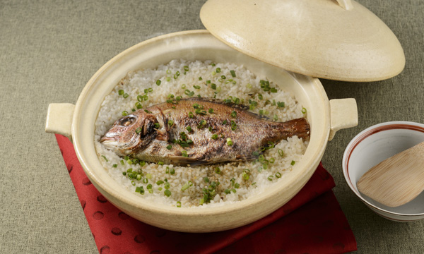 瀬戸のめぐみ「鯛めしのための焼鯛」の内容画像