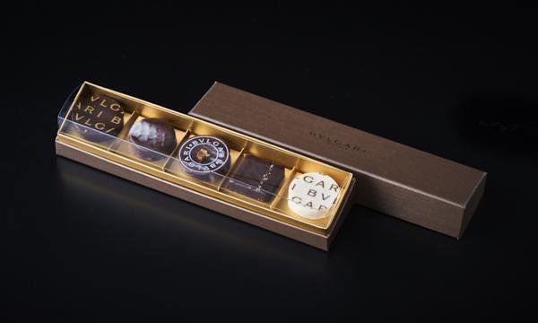 チョコレート・ジェムズ 5個入の箱画像
