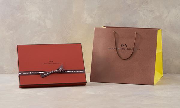 ボワット メゾン (チョコレート詰め合わせ)の紙袋画像