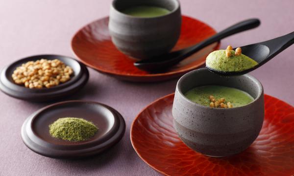 玄米茶の生チョコレート