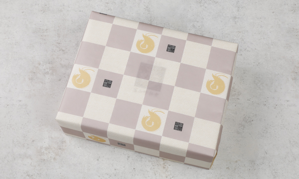 白えび紅白寿せんべいセットの包装画像
