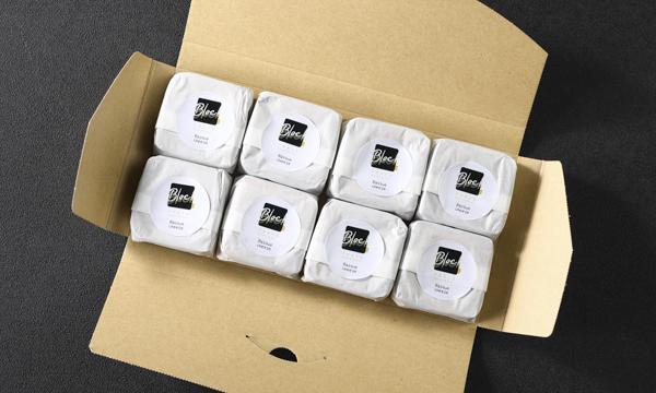 バスクチーズケーキBB 【 8個入り 】の箱画像