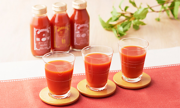 曽我農園トマトジュースセットの内容画像
