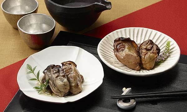 金の牡蠣・銀の牡蠣 風呂敷包み3個セットの内容画像