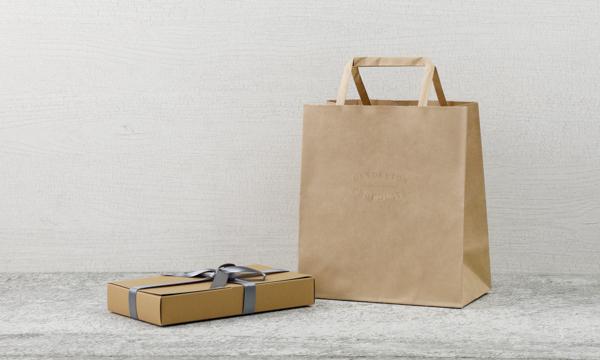 蔵前チョコレート・コレクション(3枚)の紙袋画像