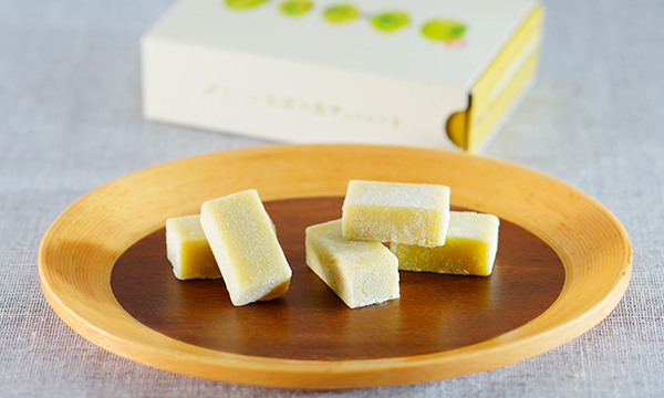 グリーン大豆の生チョコレートの内容画像