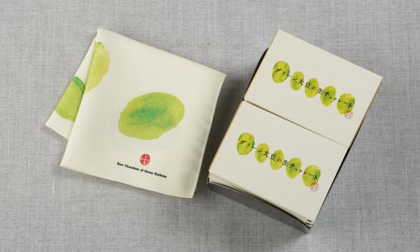 グリーン大豆の生チョコレートの箱画像