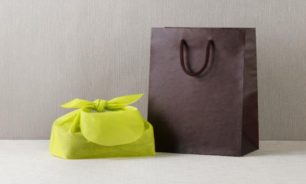 京都・紫野クッキー 京のかおりの紙袋画像