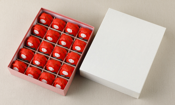 加賀八幡 起上もなか 20個入の箱画像