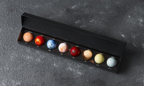惑星の輝き8個入りの箱画像