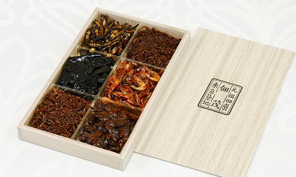 佃茂の佃煮6種詰合の箱画像