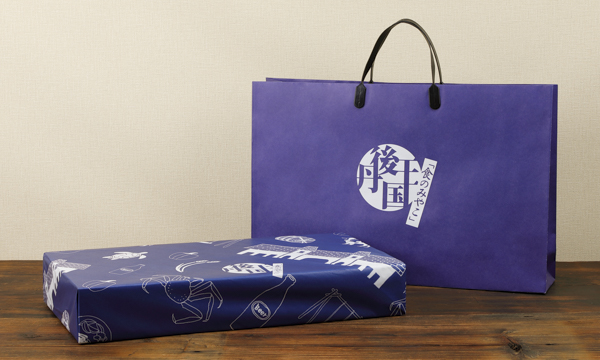 京都丹後クラフトビール7本ギフトセットの紙袋画像