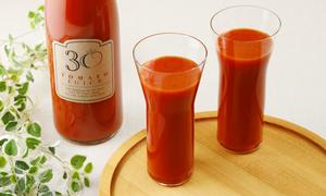 30年間農薬を使っていない畑のトマトジュース