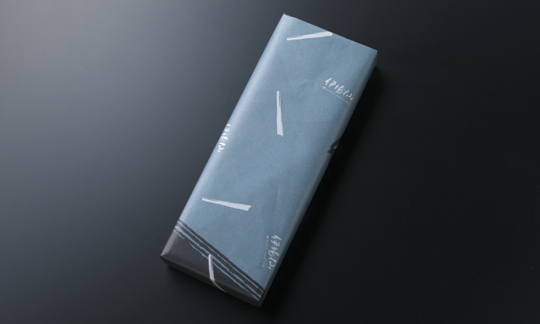 しけびき扇子(2本セット)の包装画像