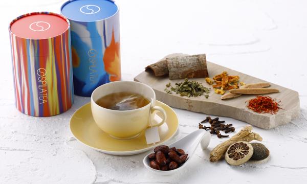 SPILA五行茶&ナッツセットの内容画像