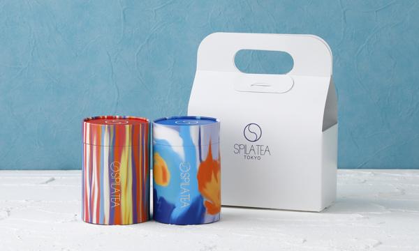 SPILA五行茶&ナッツセットの箱画像