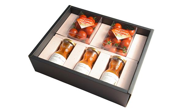 トマト&ジュースセットの箱画像