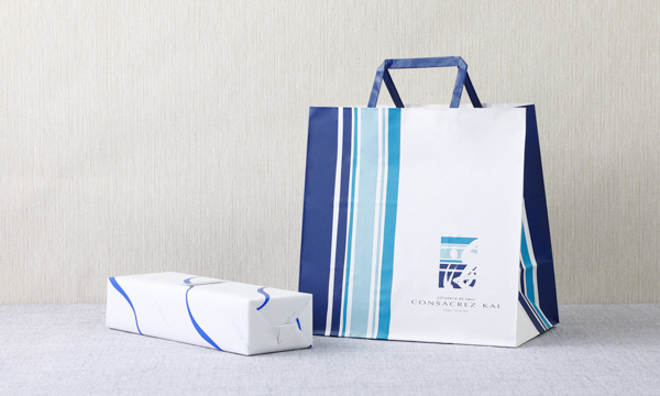 海の芋・栗・黒豆 KAI NO IMO・KURI・KUROMAME 6個入の紙袋画像