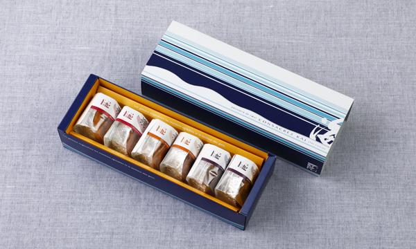 海の芋・栗・黒豆 KAI NO IMO・KURI・KUROMAME 6個入の箱画像