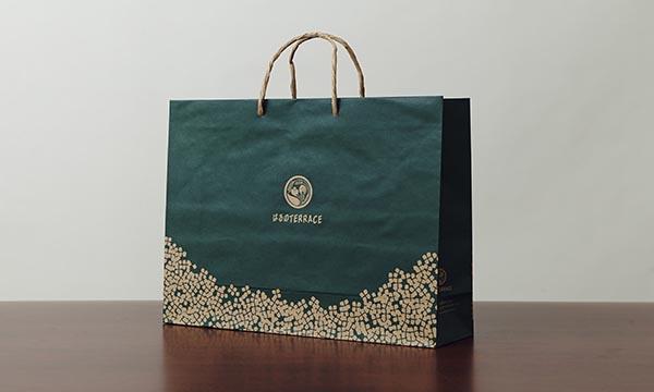 ジンジャーシロップ&バウムセットの紙袋画像