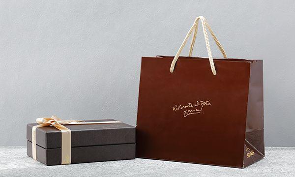 リストランテ アルポルト ショコラートフルーツサンドの紙袋画像