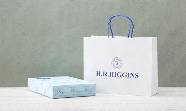 ティーバッグ6個セット「ベストセールスセレクション」【英国王室御用達 H.R.ヒギンス】の紙袋画像