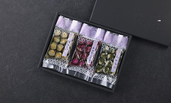 粽菜三品の箱画像