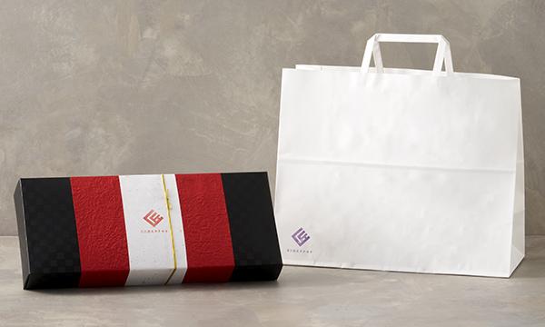 創作おはぎスイーツ タナカラセレクト(10種/10コ入)セットの紙袋画像