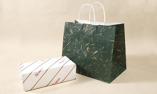 昔仕込みロースハム布巻きの紙袋画像
