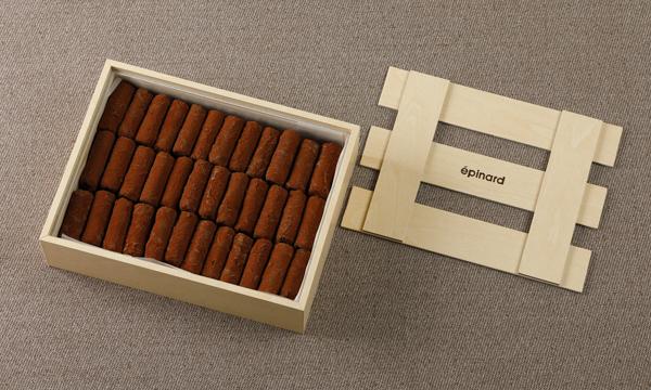 トリュフ・オ・ショコラの箱画像