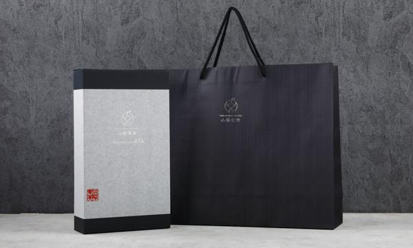 【山梨果実】プレミアム葡萄ジュースの紙袋画像