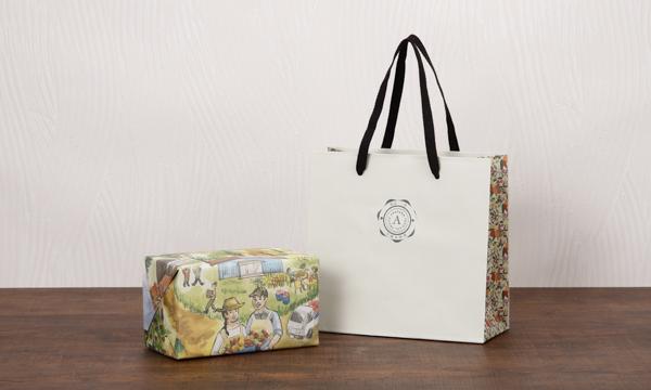 「森の果樹園」 フルーツジャム&無添加ドライフルーツセットの紙袋画像