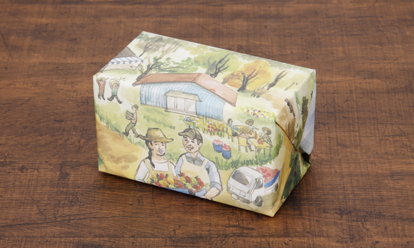 「森の果樹園」 フルーツジャム&無添加ドライフルーツセットの包装画像
