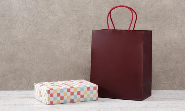ヨーグルトのためのブルーベリーソース3本セットの紙袋画像