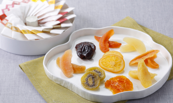 セミドライフルーツ彩りボックスの内容画像