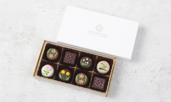 季節のショコラの箱画像