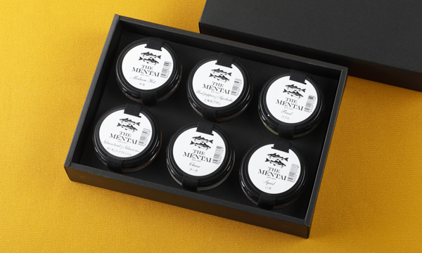 THE MENTAI 6個セットの箱画像