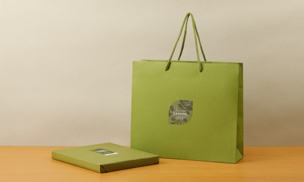 ちりめん山椒 千京 来希(40g×3種、28g×2種)の紙袋画像